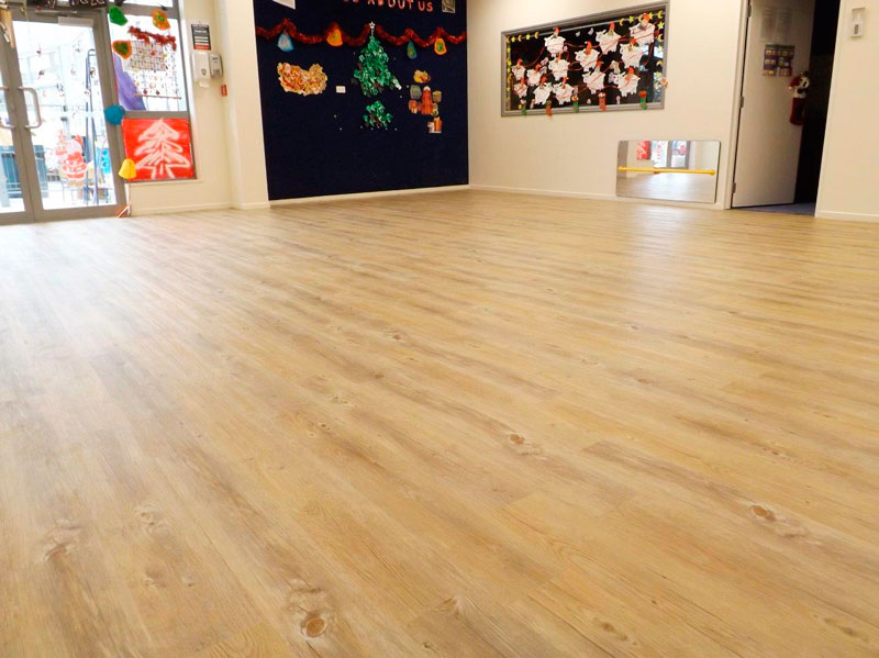 Project Floors lollipops educare niche flooring