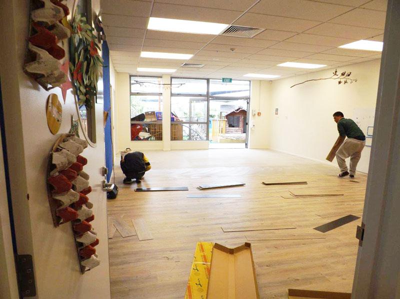 Lollipops Educare - Project Floors SP Matakana Planks