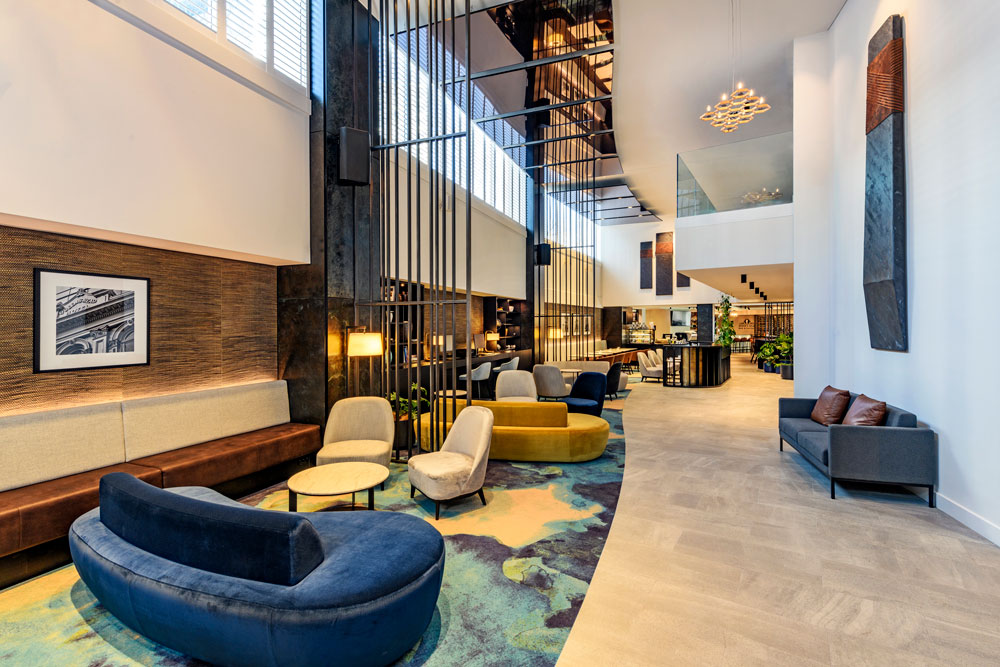Four Points Sheraton Lobby